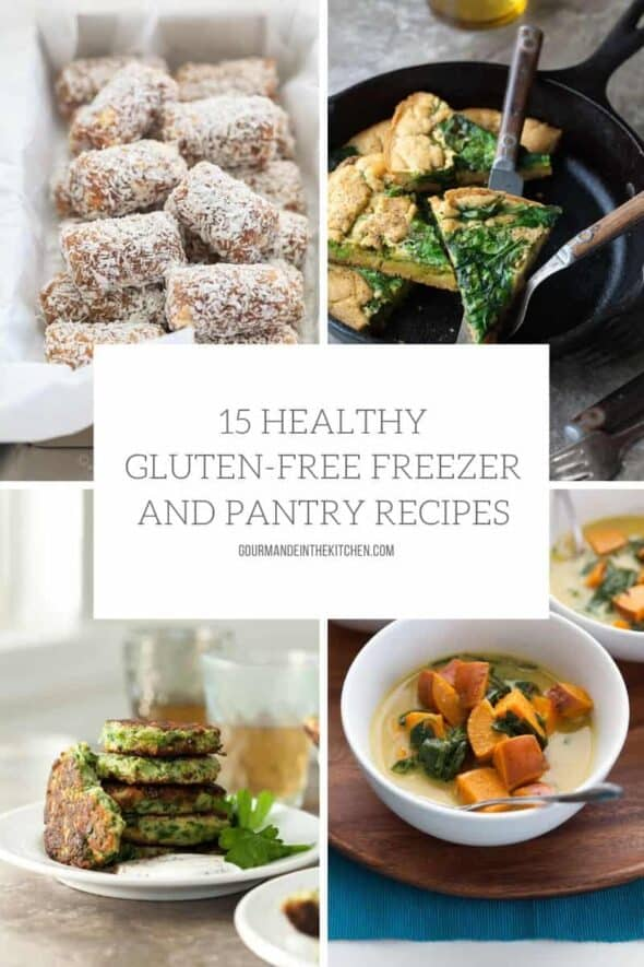 15 Healthy Gluten-Free Freezer and Pantry Recipes