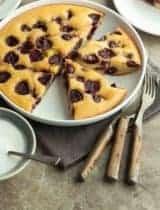 Gluten-Free Cherry Almond Buckle Cake (Paleo)