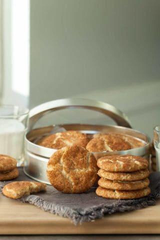 Gluten-Free Snickerdoodles (Paleo, Vegan)