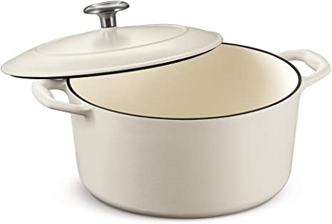 Tramontina Enameled Cast Iron Covered Round Dutch Oven, 5.5