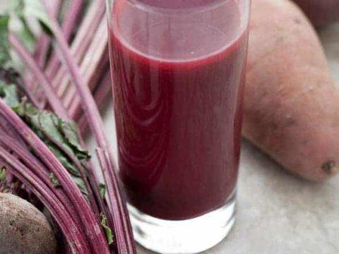 Beet Sweet Potato Juice