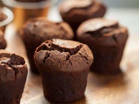 Flourless Bittersweet Chocolate Bouchons