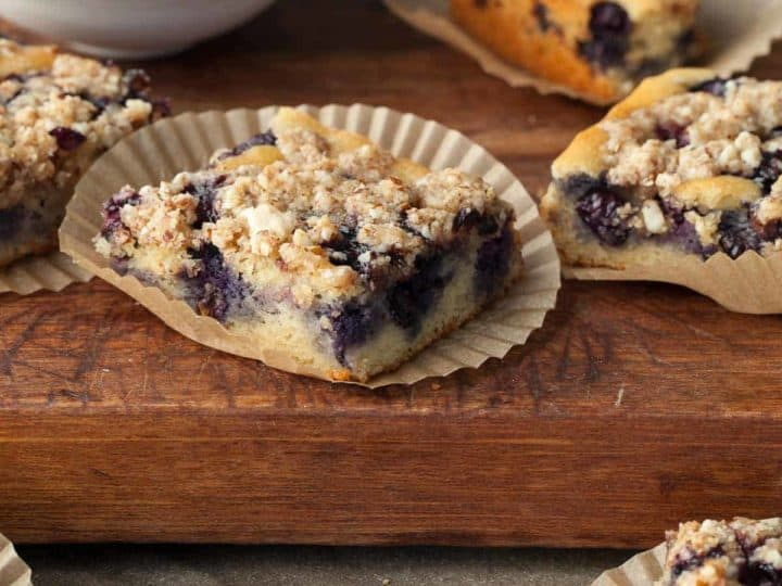 Blueberry Almond Streusel Cake