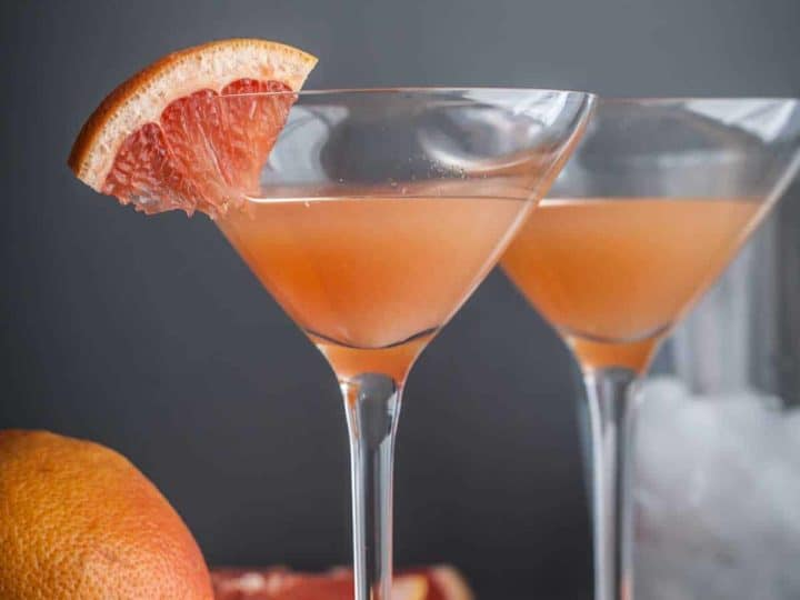 Brown Derby Grapefruit Cocktail