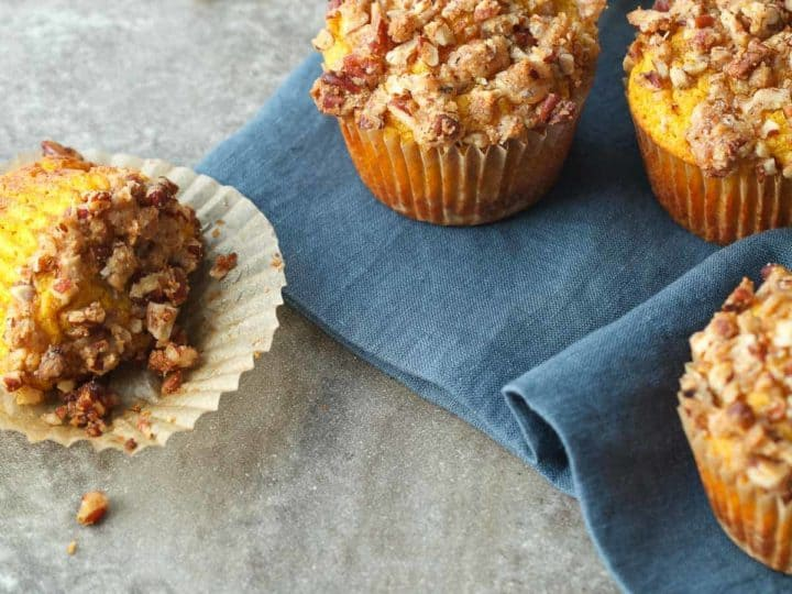 Gluten-Free Butternut Pecan Muffins