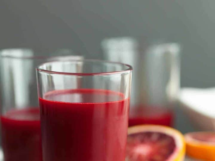 Carrot, Beet, Blood Orange, Ginger, Turmeric Juice