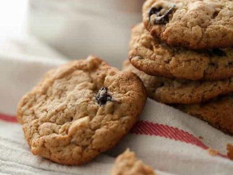 Gluten-Free Cherry Cashew Butter Cookies (Paleo)