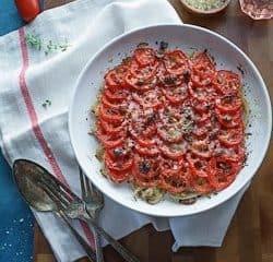 Tomato Fennel Gratin Recipe