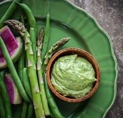 Fresh Herb Aïoli with Spring Vegetables