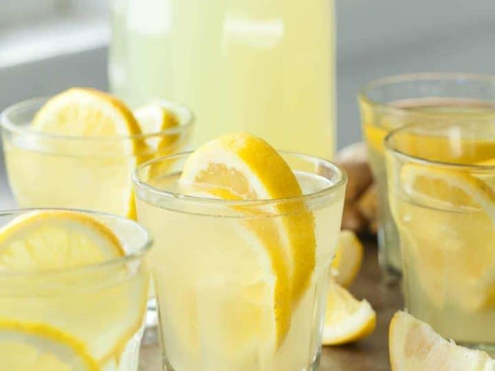 Honey Ginger Lemonade Recipe