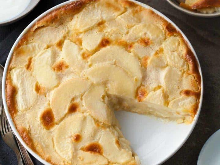 Gluten-Free Pear Almond Clafoutis