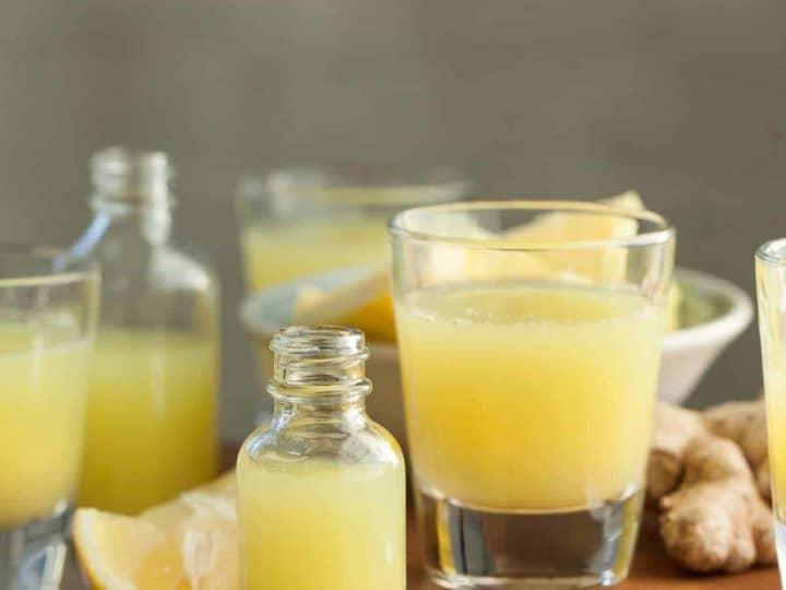 Pineapple Ginger Wellness Shots