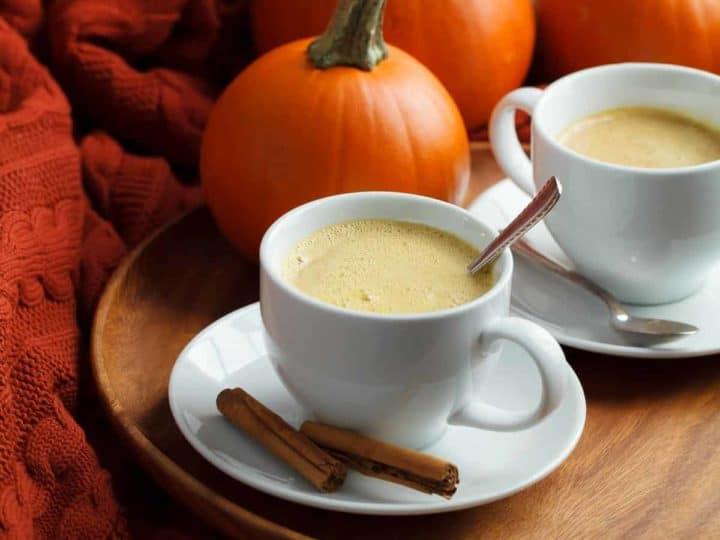 Vegan Rooibos Pumpkin Spice Latte