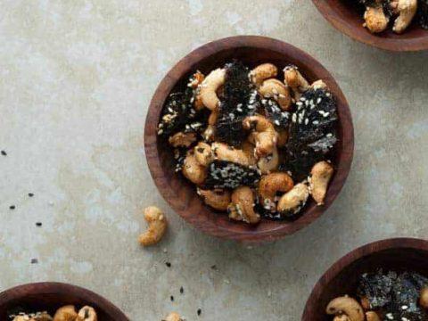 Sesame Nori Roasted Cashews